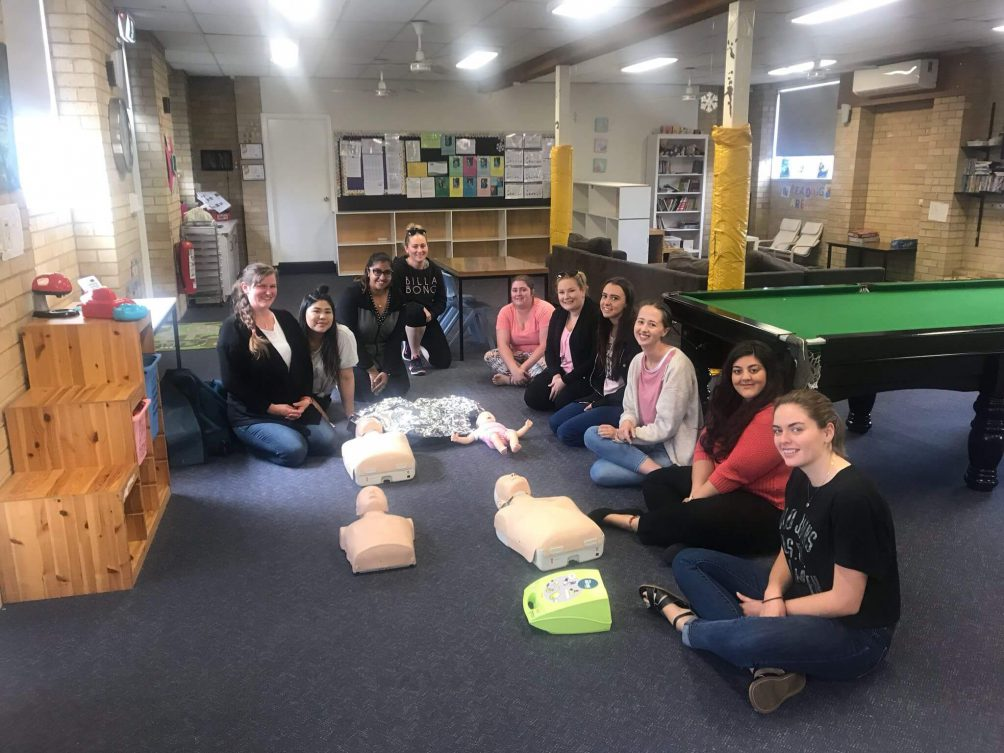 First aid training delivered in Kellyville
